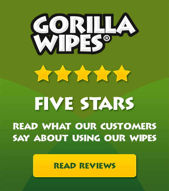 Gorilla Wipes® - Reviews