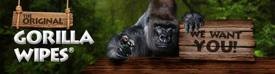 Become a Gorilla Wipes® distributor