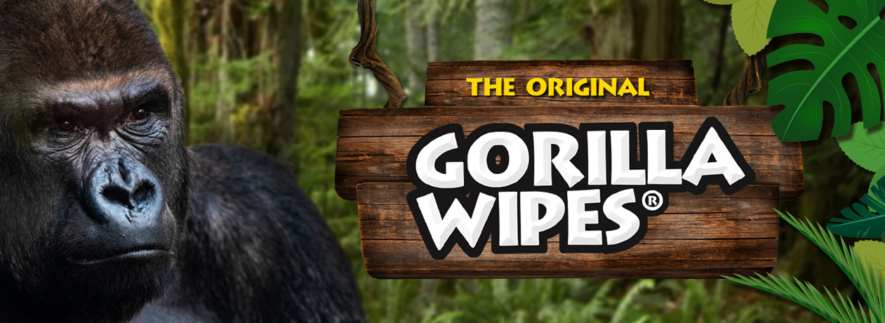 The Original Gorilla Wipes